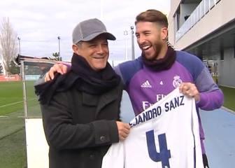 La broma entre Alejandro Sanz y Ramos: ¿qué se dijeron?
