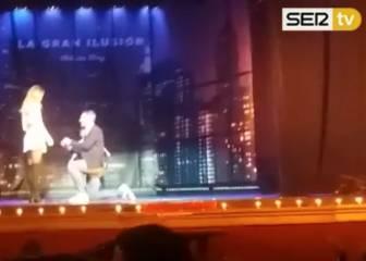 ¡Morata le pide matrimonio a su novia en medio de un show!