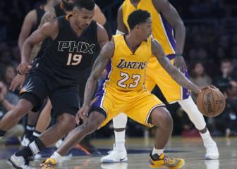 Los Lakers de los jóvenes no consiguen mantener la inercia
