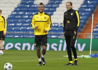 El técnico de Aubameyang habla del interés del Madrid