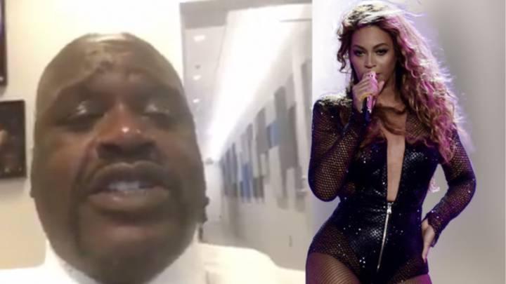 La \'melosa\' voz de Shaquille O\'Neal imitando a Beyoncé