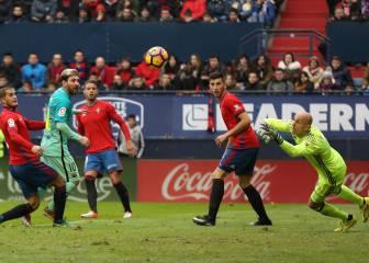 Jordi Alba y Messi sacan del lío al Barça tras perdonar mucho