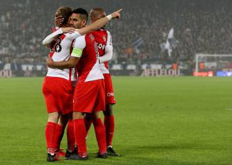 El Mónaco vence al Girondins con un hat-trick de Falcao