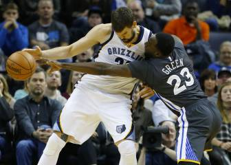 Marc Gasol se come a los Warriors de Curry