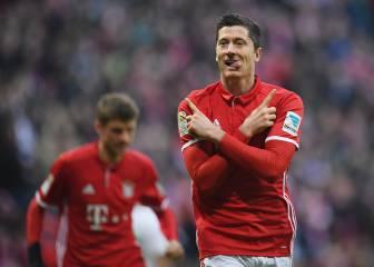 Bayern: Neuer, Lewandowski y Robben hacen todo posible