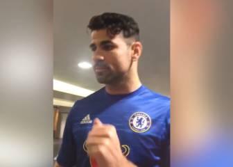 ¡Vaya bailecito se marcó Diego Costa para celebrar el triunfo!