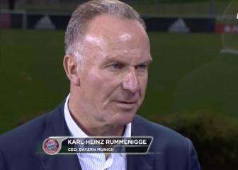 Rummenigge vuelve a opinar del Atleti y la Champions