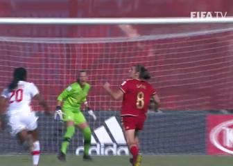 El golazo de María Caldentey, mejor del Mundial Sub-20