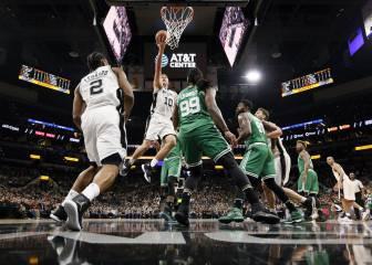 Resumen del San Antonio Spurs - Boston Celtics de la NBA
