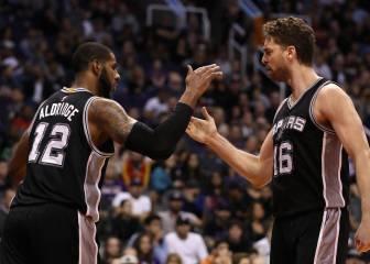 Resumen del Phoenix Suns - San Antonio Spurs de la NBA