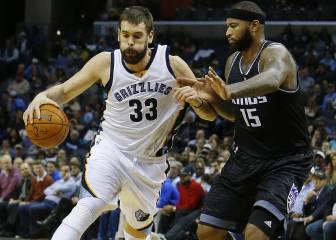 Marc vs Cousins: el duelo por ser el mejor pívot de la NBA