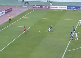 Xavi hizo su sexto gol del año y dejó a su equipo líder en Qatar
