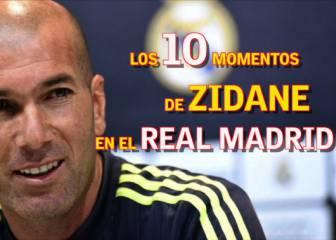 El año de Zinedine Zidane: Sus 10 momentos en el Real Madrid
