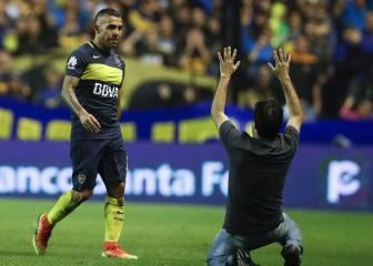 Las lágrimas de Tévez al decir adiós a La Bombonera