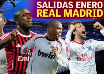 Las salidas históricas del Real Madrid en el mercado invernal