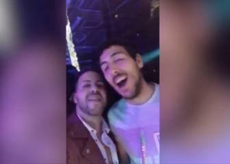 Difunden en Twitter este vídeo de Parejo ebrio en un discoteca
