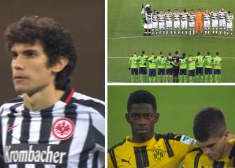 Solemne minuto de silencio en la Bundesliga por el atentado