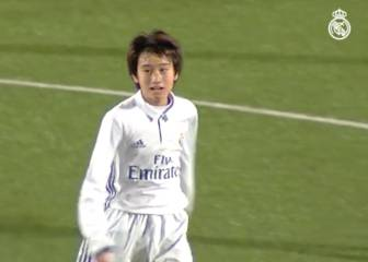 Real Madrid: Japanese academy gem Pipi scores great goal