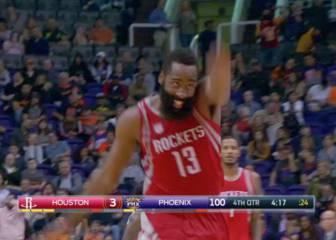 Cómoda victoria de los Rockets de Harden ante los Suns