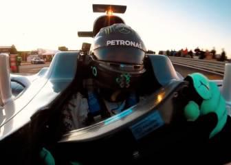 El alucinante selfie de Rosberg en el adiós a su F1 campeón