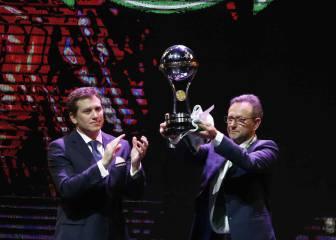 La emocionante entrega del título de campeón al Chapecoense