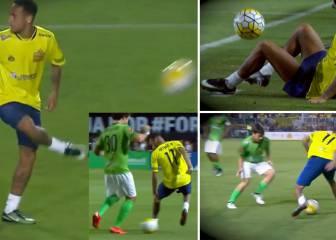 Bailando con cinturas: lo mejor del último show de Neymar