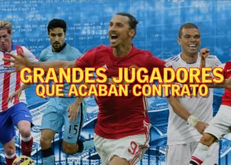 De Iniesta a Ibra: cracks que terminan contrato en 2017