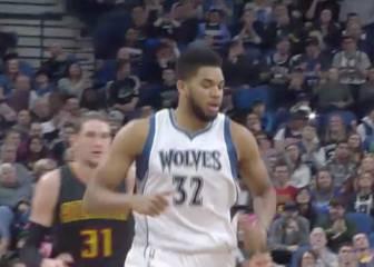 Los Wolves sellan el triunfo gracias a Towns y Wiggins