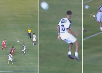 Neymar's new pass and move volley groove