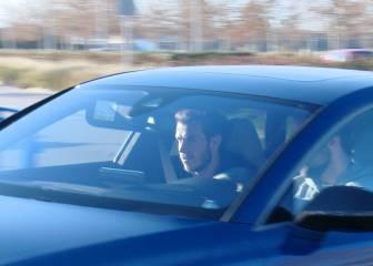 Gareth Bale continúa con su recuperación en Valdebebas