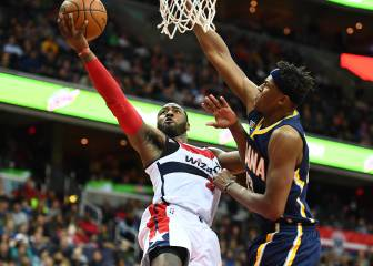 John Wall se pasea y sella la victoria de los Wizards ante Pacers