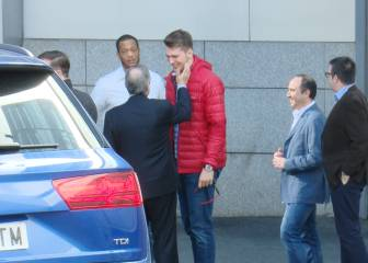 El 'cariñoso' saludo de Florentino a Luka Doncic: ¡Vaya tortazo!