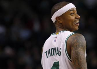 El 'canijo' que tiene loca la NBA: Thomas (1,75) y sus 52 puntazos