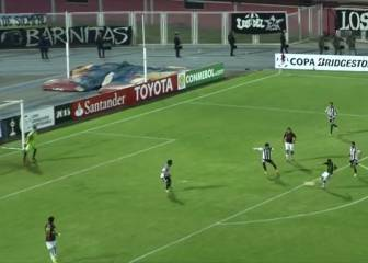 El golazo que Márquez anotó en el Palestino de Guede