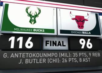 Resumen del Chicago Bulls - Milwaukee Bucks de la NBA