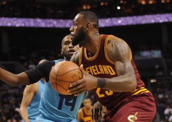 Resumen del Charlotte Hornets - Cleveland Cavaliers de la NBA