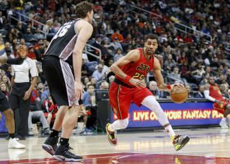 Resumen del Atlanta Hawks - San Antonio Spurs de la NBA