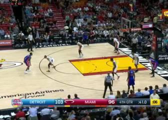 Resumen del Miami Heat - Detroit Pistons de la NBA