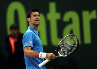 Djokovic empieza sufriendo ante Struff en Doha