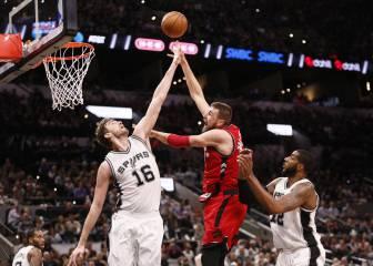 Resumen del San Antonio Spurs - Toronto Raptors de la NBA