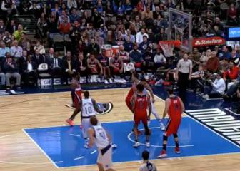 Resumen del Dallas Mavericks-Washington Wizards de la NBA
