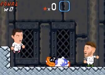 Cristiano e Higuaín en la parodia más divertida de Súper Mario