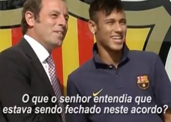 Sandro Rosell confirma que adelantaron dinero por Neymar