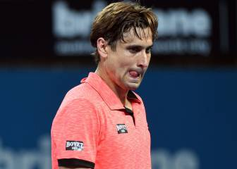 Ferrer se despide de Brisbane al caer ante el local Thompson