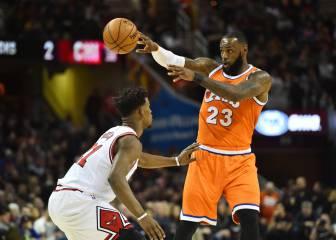 Resumen del Cleveland Cavaliers-Chicago Bulls de la NBA