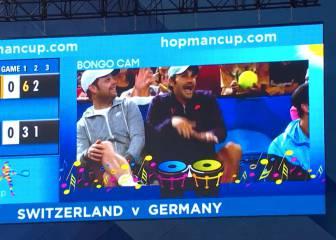 Roger Federer saca su lado más divertido con la 'Bongo Cam'