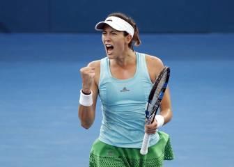 Muguruza gana a Kuznetsova y ya está en semifinales