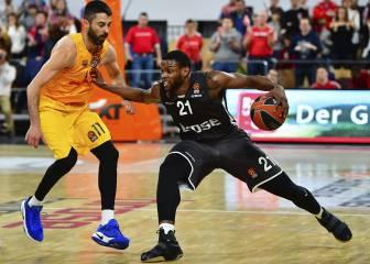 Nueva debacle del Barcelona ante el Brose Baskets