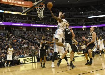 Resumen del Denver Nuggets - San Antonio Spurs de la NBA