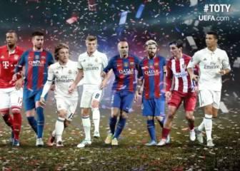 La evolución del mejor XI UEFA en los últimos 15 años